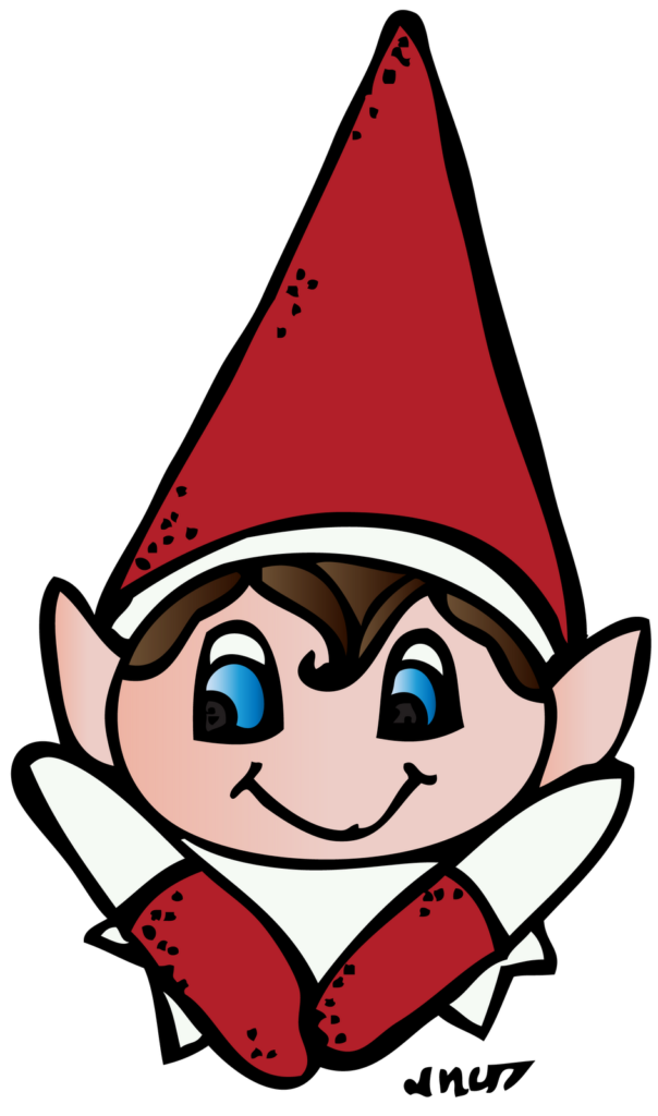 Elf On The Shelf Clipart  Clipart Suggest