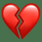 Broken Heart Emoji Meaning Pictures  Codes