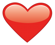 EMOJI HEART PNG Clipart Free Images