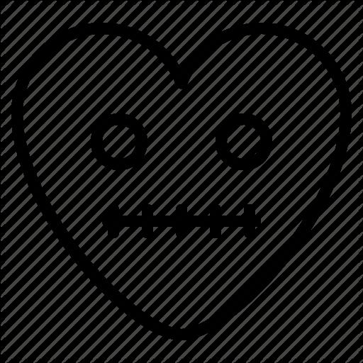 Dead emoji empty shock icon  Download on Iconfinder