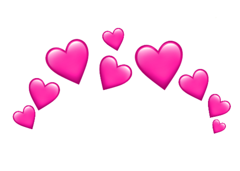 emoji emojis whatsapp heart hearts rosa pink love