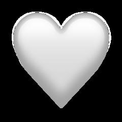 White Heart Emoji