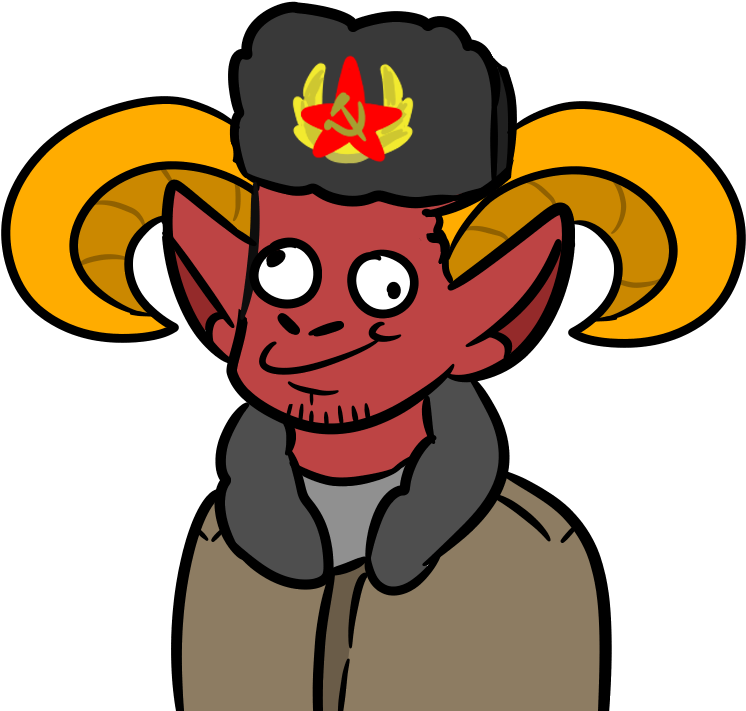 Request For Stalin The Satan On Discord Clipart  Full
