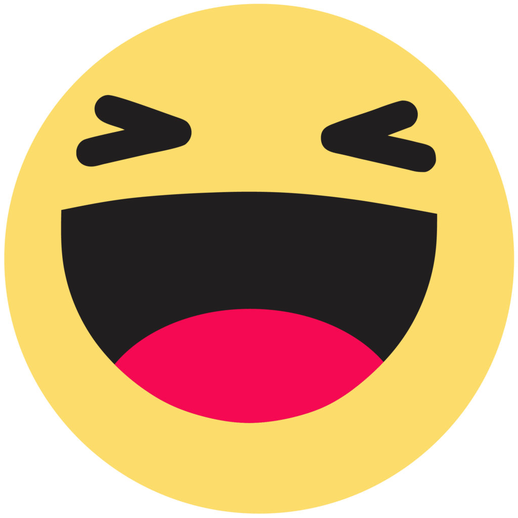 Facebook like button Emoji Emoticon  haha png download