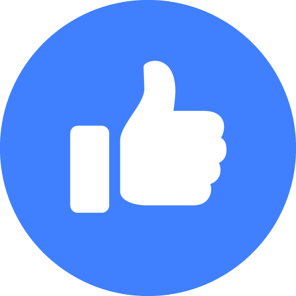 Facebook Like   Free Vector Icons