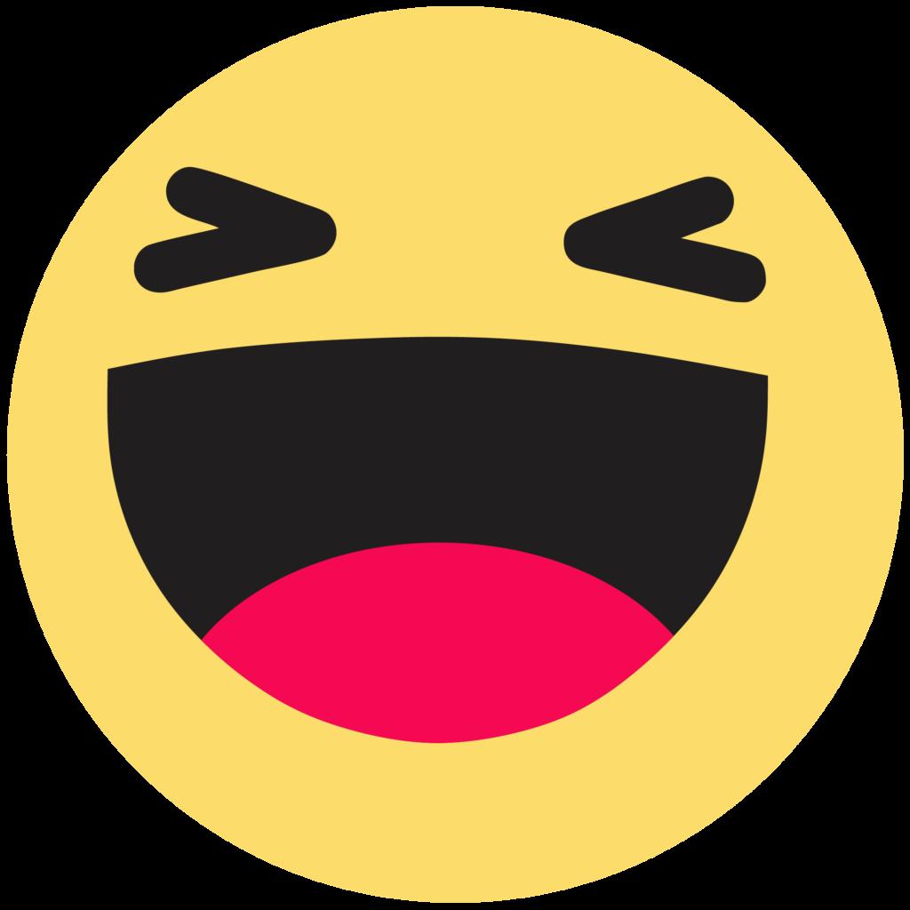 Download Emoticon Like Button Haha Facebook Emoji HQ PNG