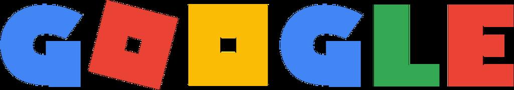 Google Logo in Roblox font by GoldLunarMoon on DeviantArt