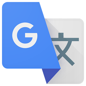 What does the character in the new Google Translate logo