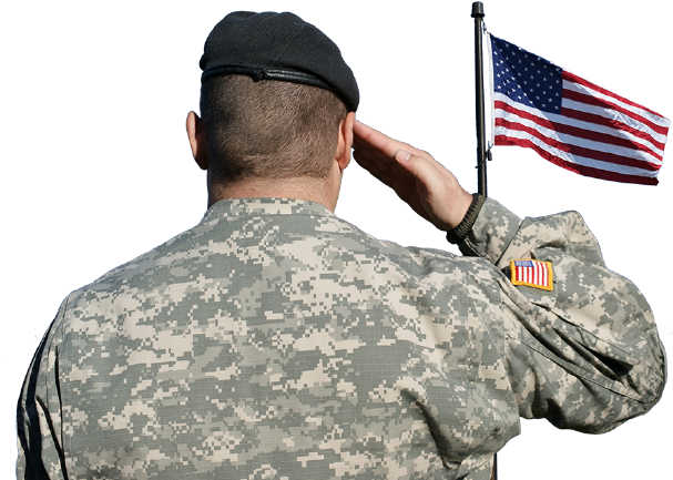 Free Soldier Holding Flag Silhouette Download Free Clip