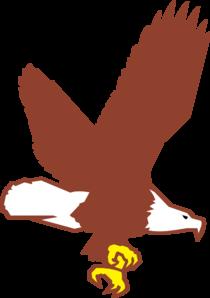 Bald Eagle Flying Clip Art at Clkercom  vector clip art