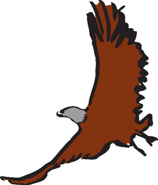 Flying Eagle Art Clip Art at Clkercom  vector clip art