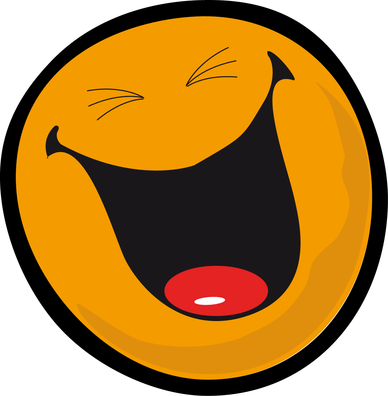 Smiley Face Laugh   Free download on ClipArtMag - Free Clip Art Smiley Faces Emotions