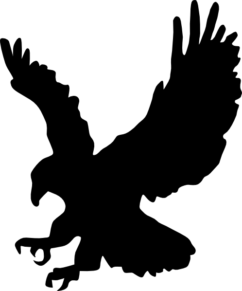 silhouette of eagle  Google Search  Eagle silhouette