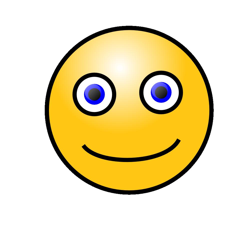 OnlineLabels Clip Art  Emoticons Simple Face