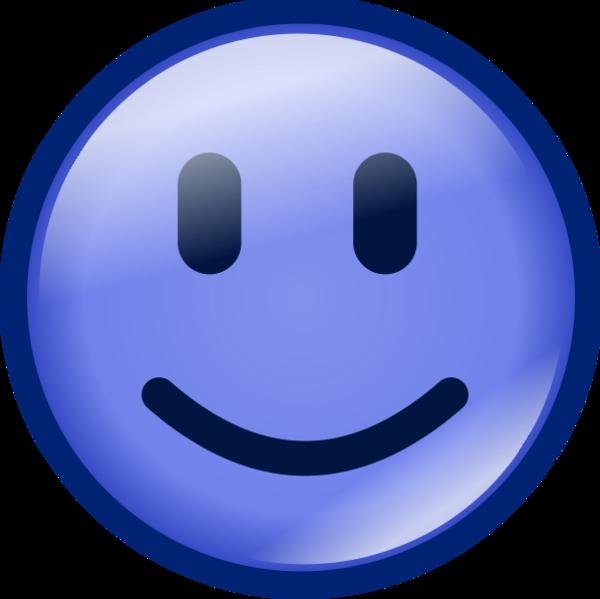 47 Blue Smiley Face Clip Art  ClipArt Best  ClipArt Best