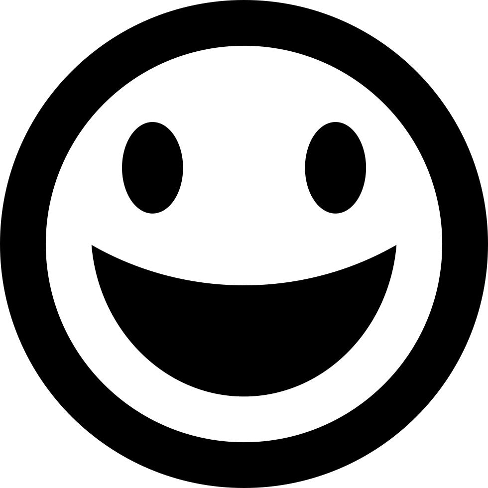 Happy Emoticon Smiley Face Svg Png Icon Free Download