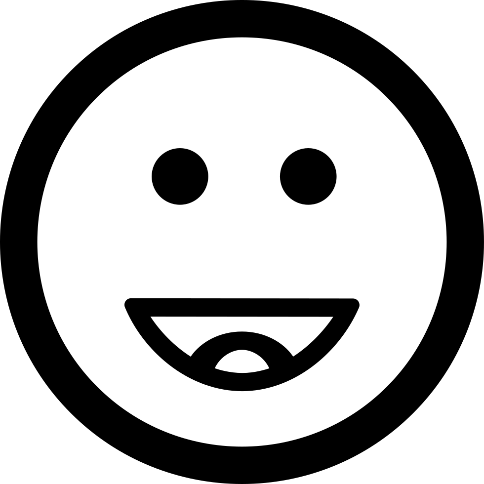 Happy Smiling Emoticon Square Face Svg Png Icon Free Download 50863  OnlineWebFontsCOM