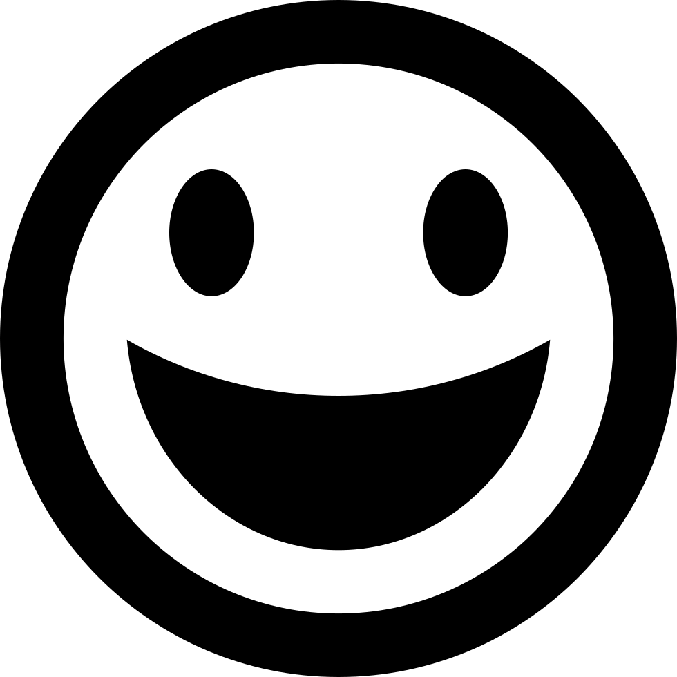 Happy Emoticon Smiley Face Svg Png Icon Free Download 1501  OnlineWebFontsCOM