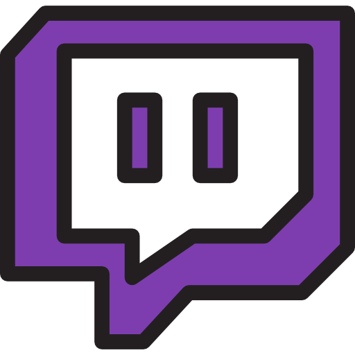 Twitch  Free social media icons