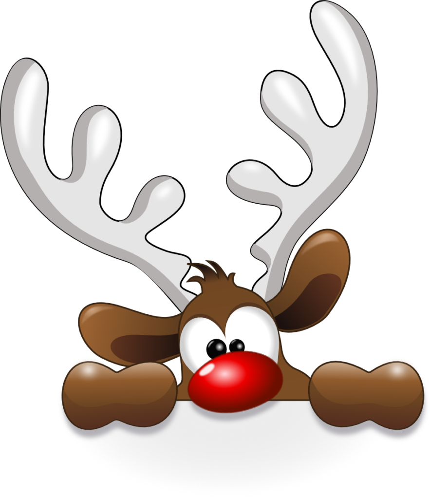 Funny Reindeer  Christmas clipart Christmas images