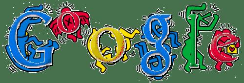 Google Doodle 節日標誌探秘  Fun 4 Doodle 美國塗鴉藝術家 Keith Haring
