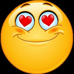 Heart Eyes Emoticon  Funny emoticons