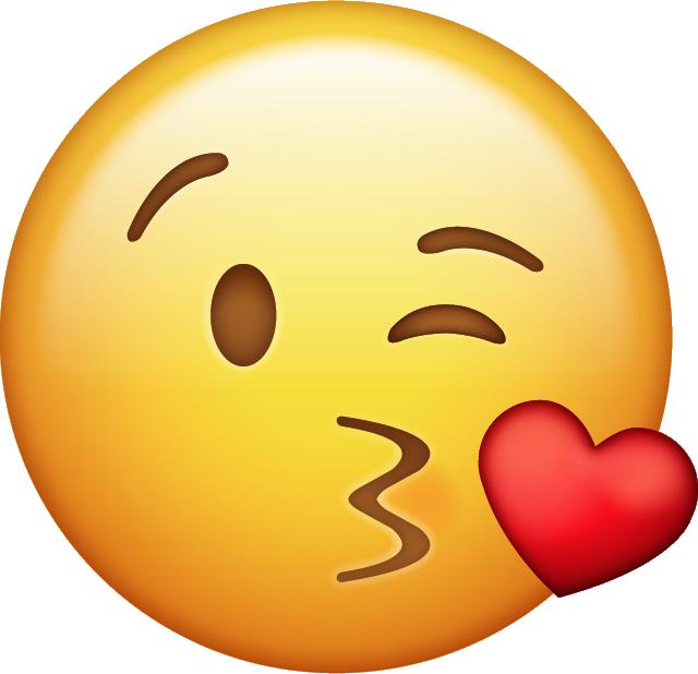 Download Kiss Emoji Icon  Emojis de iphone Imágenes de