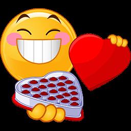 Heart Candy Emoticon  Smiley Funny emoticons Emoticon faces