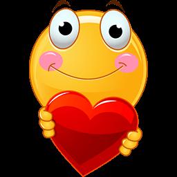 Heres My Heart Emoticon  Emoji bilder Emoticon Emoji