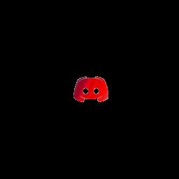 Gradient Red Discord Logo Icon