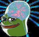 GalaxyBrainPepe  Discord Emoji