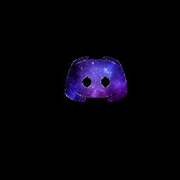 Purple Galaxy Discord Logo Icon