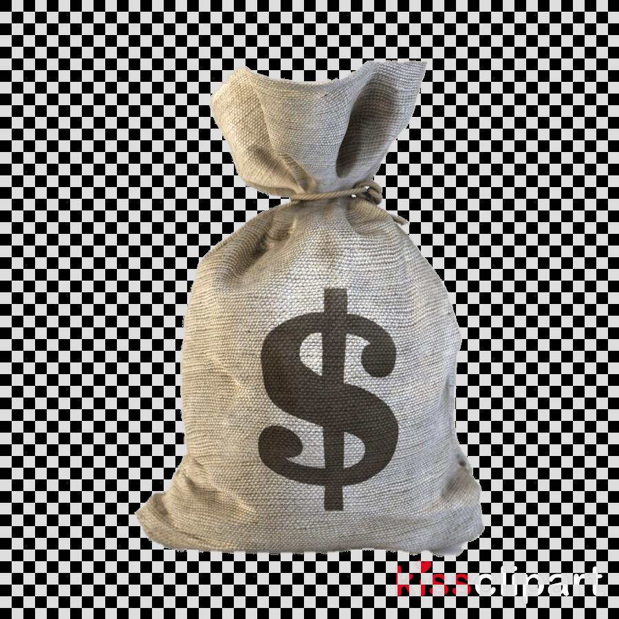 Money bag clipart  Bag Beige Money Bag transparent