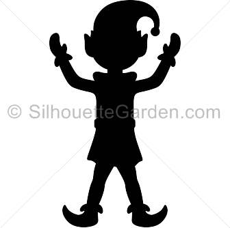 Elf silhouette clip art Download free versions of the
