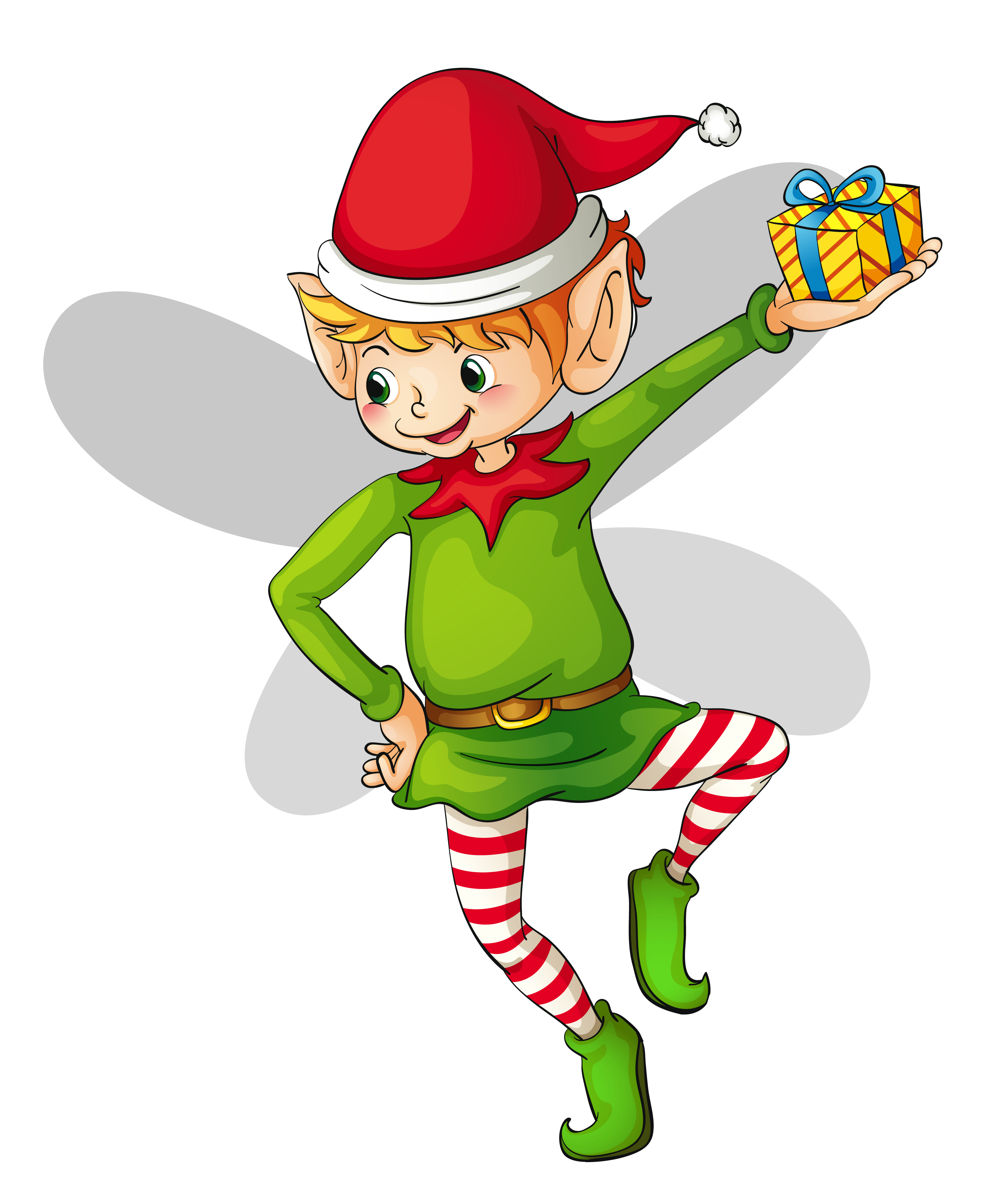 Elf Clipart Black And White   Free download on ClipArtMag - Girl Elf Clip Art Black and White