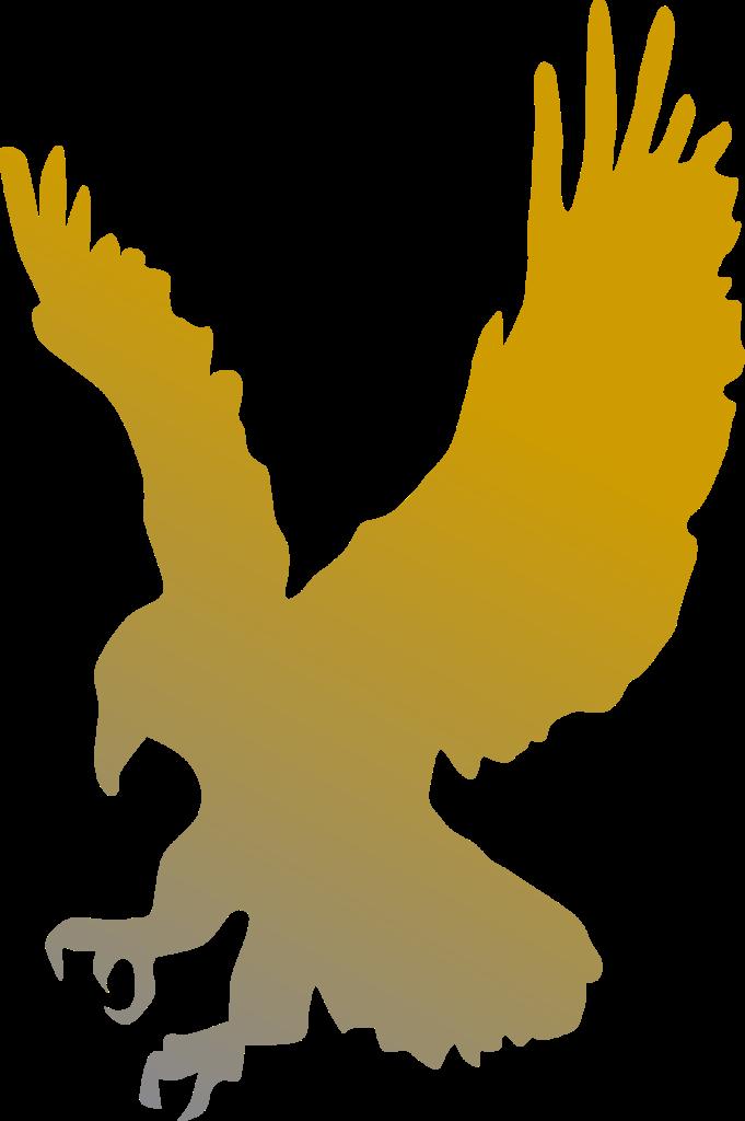 Golden Eagle Vector Clipart image  Free stock photo