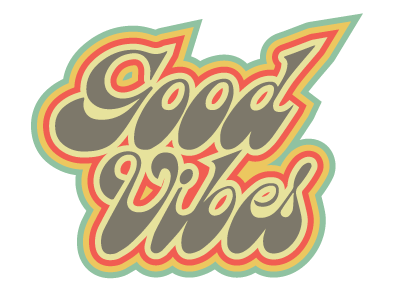 Good Vibes by Cecil Roth on Dribbble
