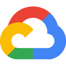 Google cloud Logo Icon of Flat style  Available in SVG