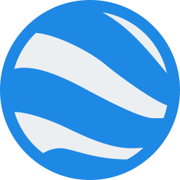 Google earth Logo Icon of Flat style  Available in SVG