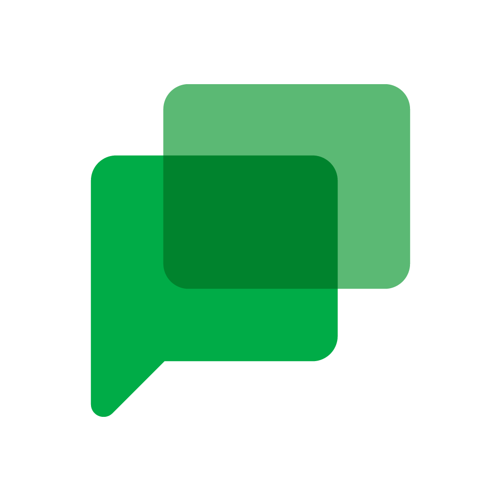 Google Chat logo in EPS  AI  SVG  CDR vector free