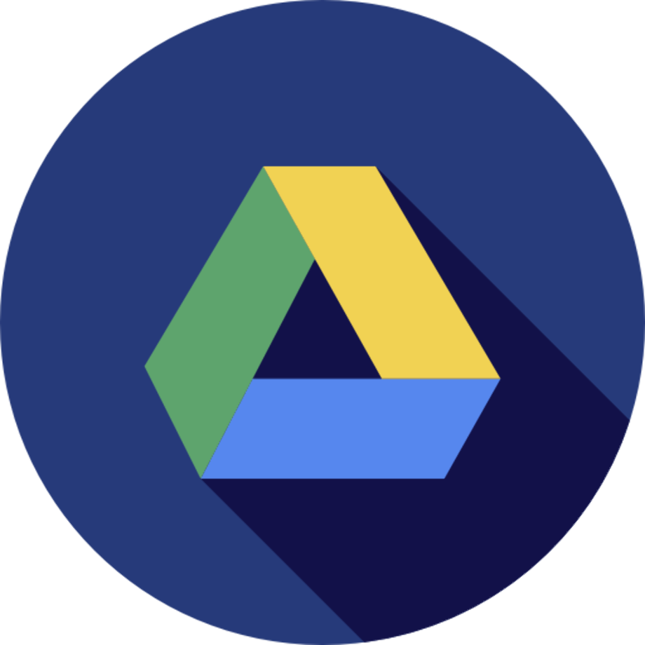 Download High Quality google drive logo circle Transparent
