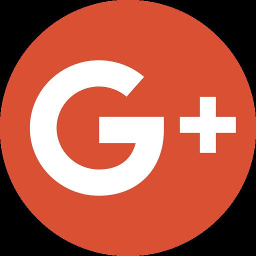 Circle google logo media new plus social icon