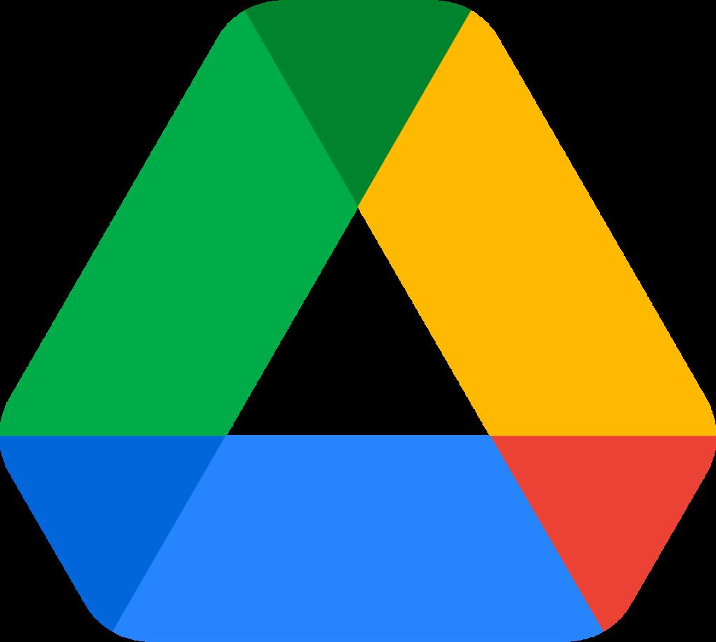 FileGoogle Drive logopng  Wikimedia Commons
