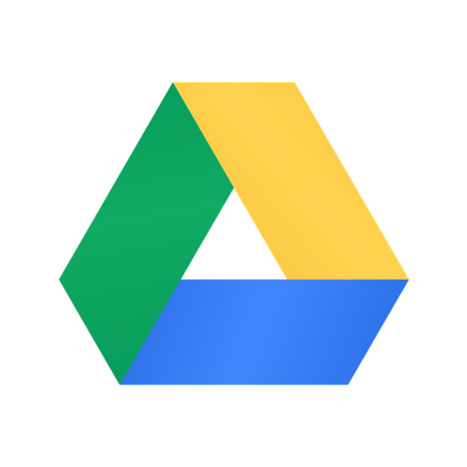 Download High Quality google drive logo ico Transparent