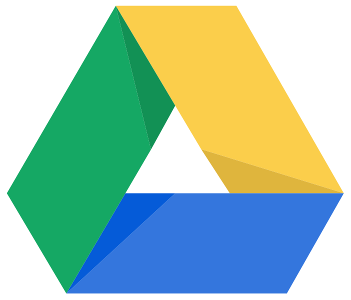 FileGoogledrive logosvg  Wikimedia Commons