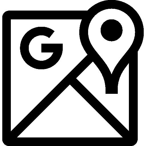 Mapas de google  Icono Gratis