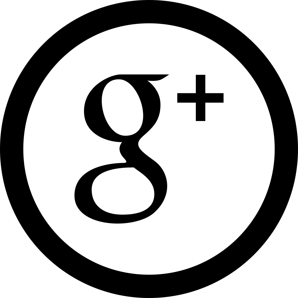 Social Google Plus Circular Button Svg Png Icon Free