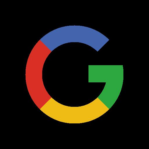 Alphabet color google media network social icon