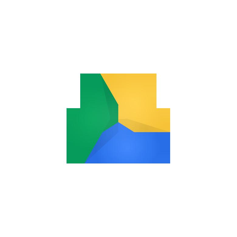 Google Drive  icon  delta  mobius  folded  Corporate