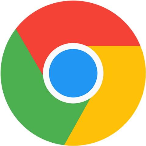 Chrome Icon Logo Template For Free Download  Google